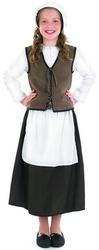 Girls Tudor Kitchen Girl Costume