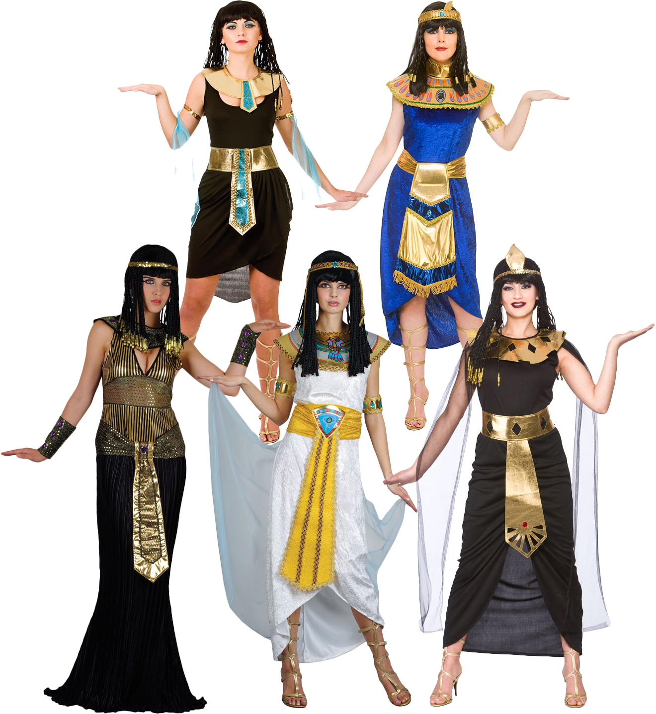 cleopatra egyptian ladies fancy dress halloween egypt womens adult