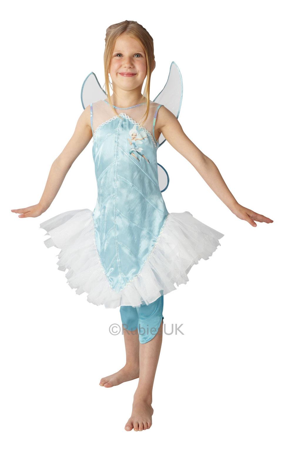 disney fairy wings girls fancy dress fairytale pixie childrens
