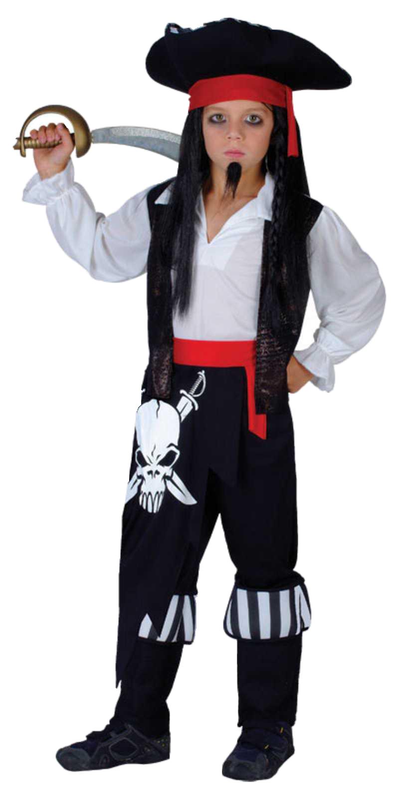 Kid Halloween Cosplay Deluxe Pirate Costume for Halloween Day