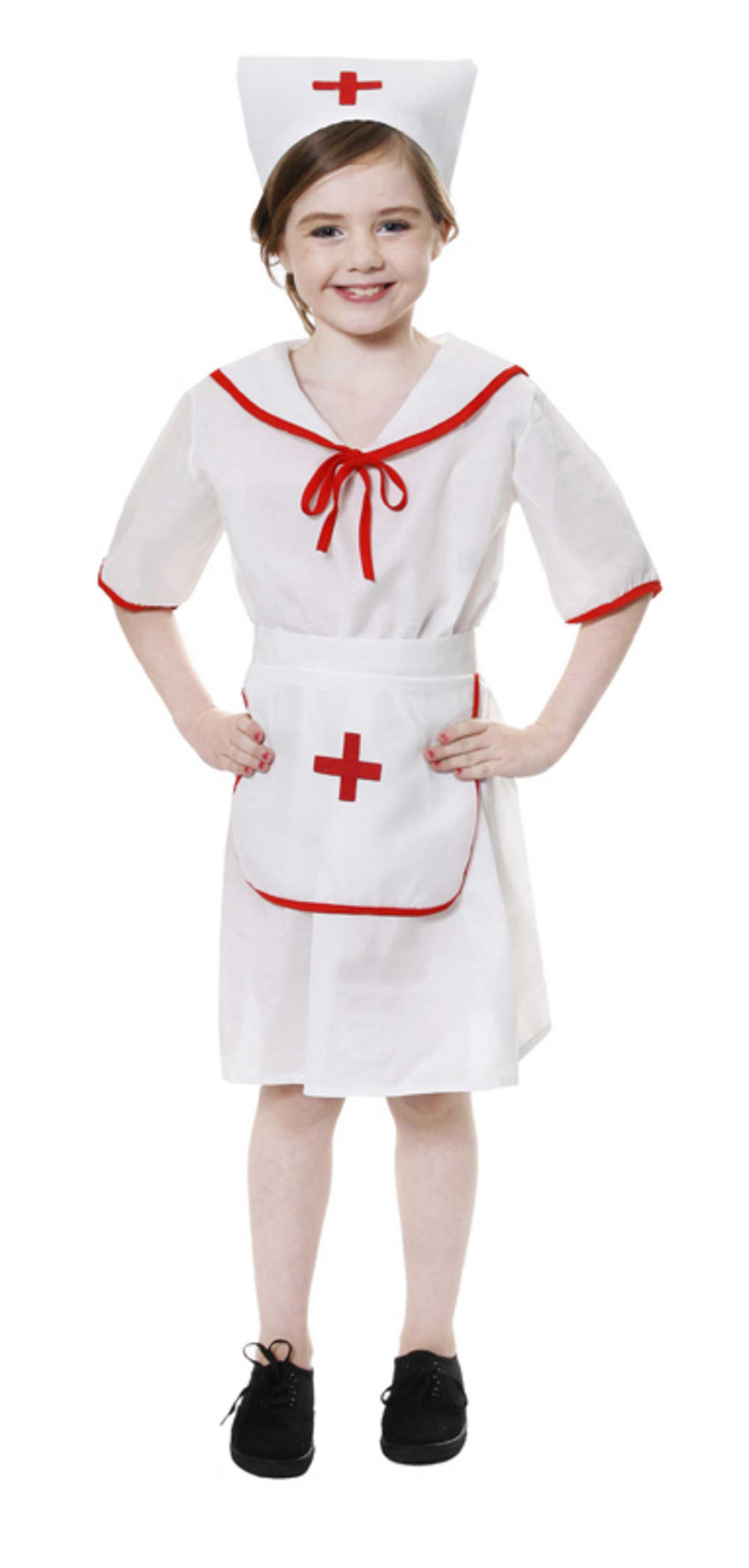 b35fceab7ff0f Girl's Toddler Nurse Costume | Girl's World Book Day Fancy Dress Costumes |  Mega Fancy Dress