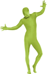 Green Second Skin Body Suit