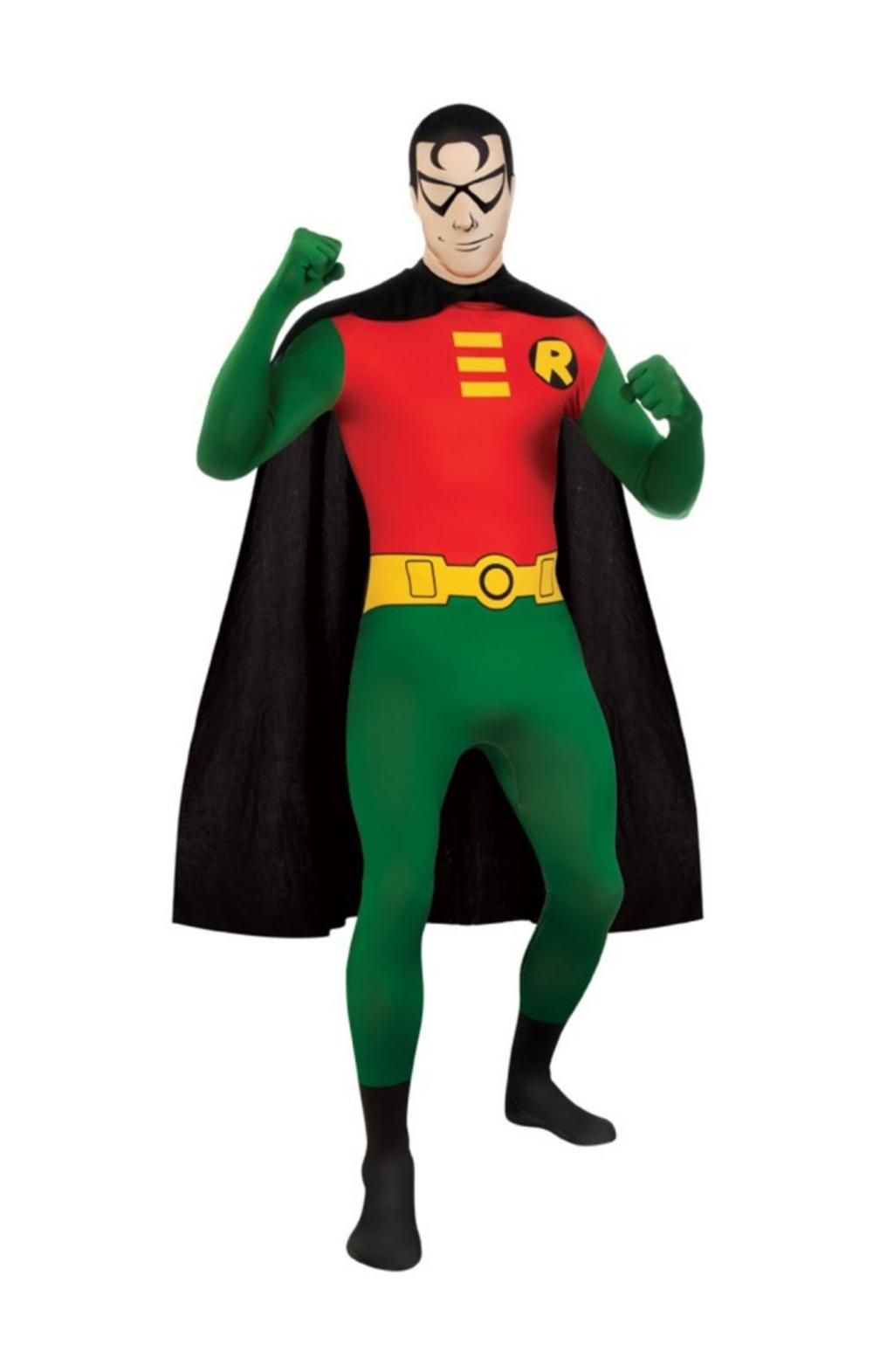 Robin Second Skin Costume  sc 1 st  Mega Fancy Dress & Robin Second Skin Costume | Batman Costumes | Mega Fancy Dress