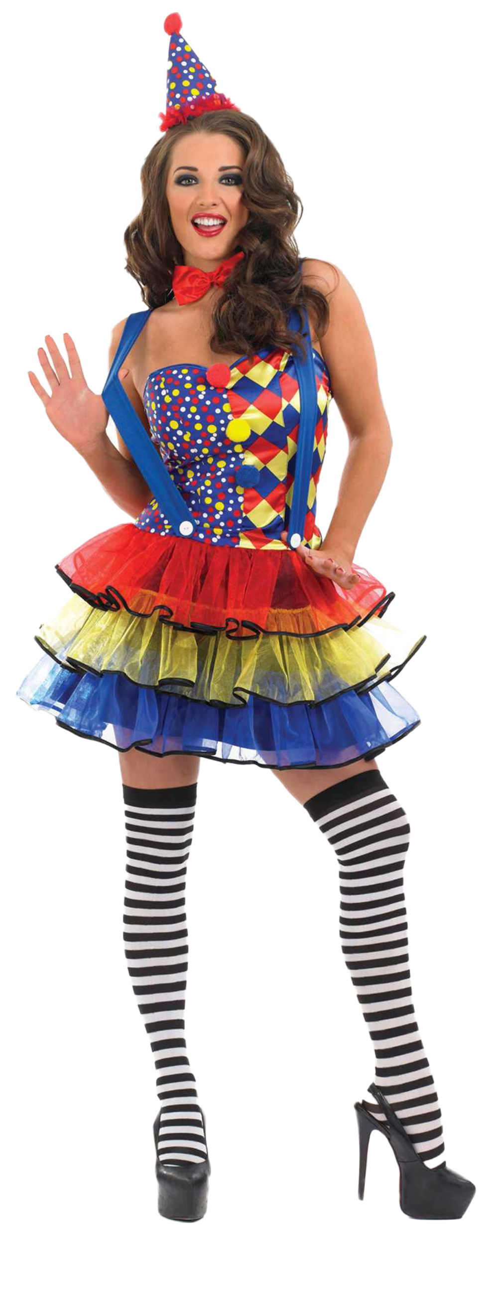 Sexy Clown Costume  sc 1 st  Mega Fancy Dress & Sexy Clown Costume | All Ladies Costumes | Mega Fancy Dress