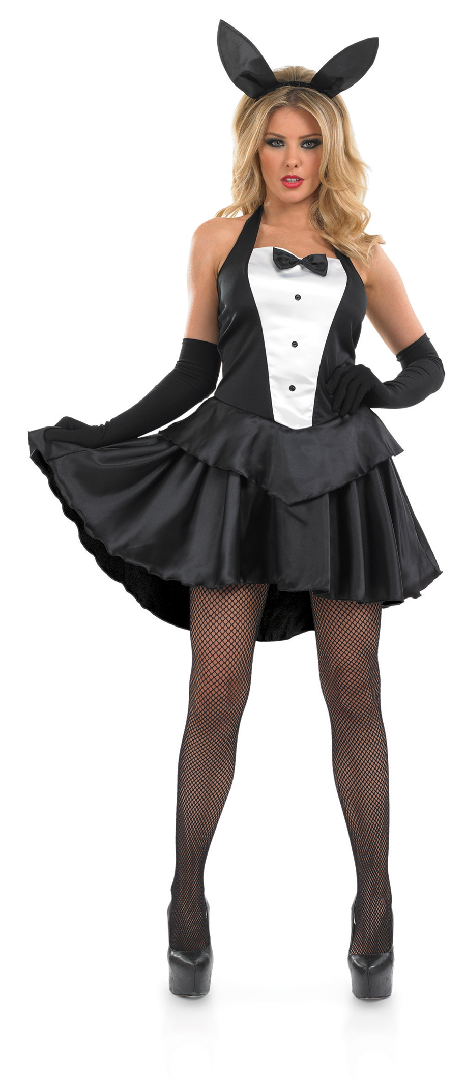 Bunny Hostess Girl Costume  sc 1 st  Mega Fancy Dress & Bunny Hostess Girl Costume | All Ladies Costumes | Mega Fancy Dress