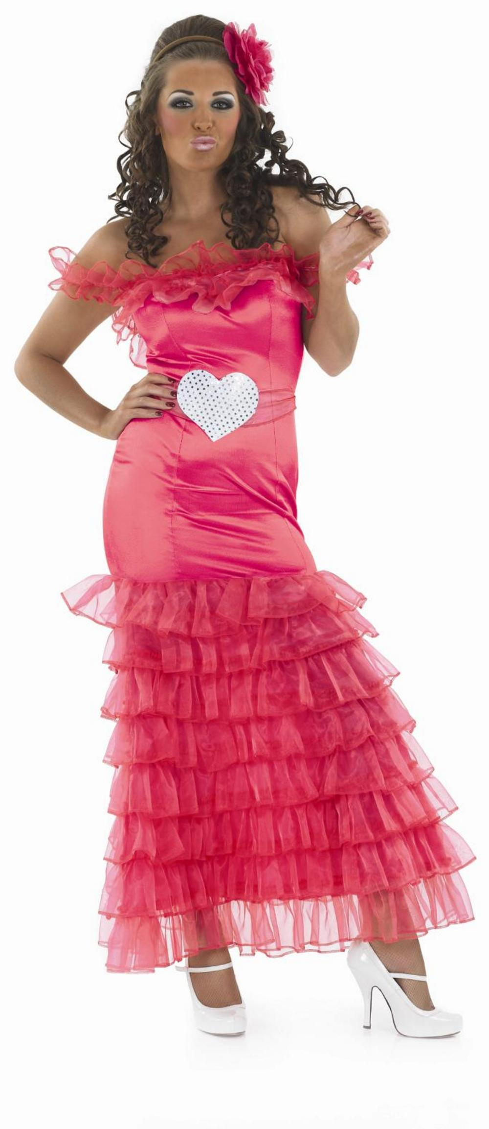 Pink Gypsy Bridesmaid Costume