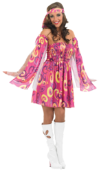 60s Swirl Dress Costume