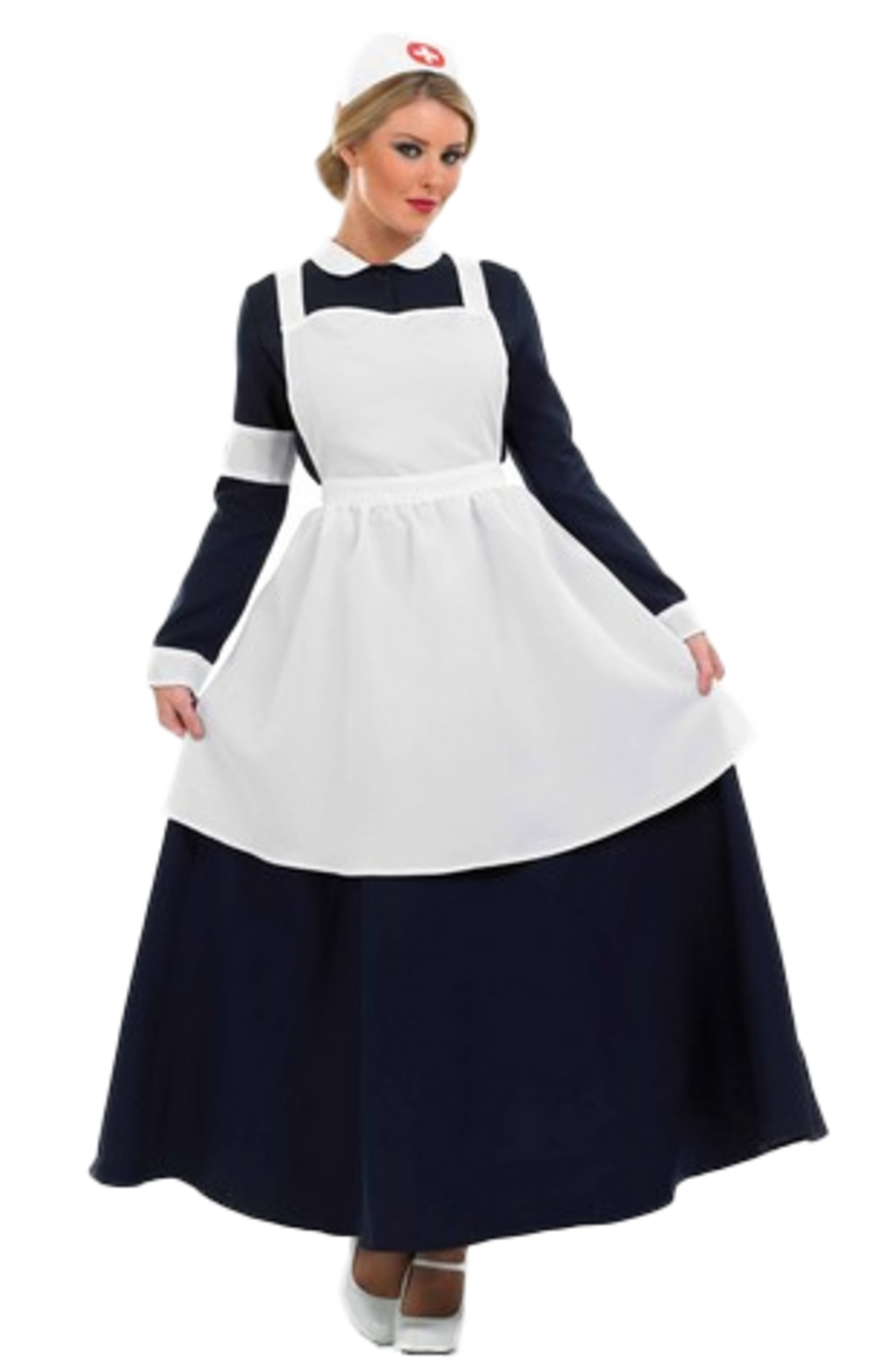Doctors nurses costumes mega fancy dress victorian nurse costume solutioingenieria Gallery