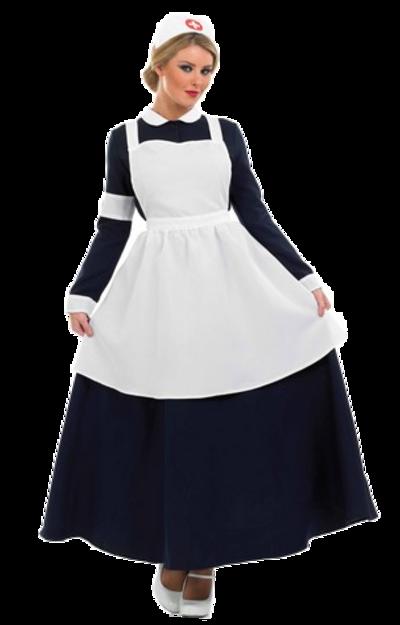 Victorian Nurse Costume