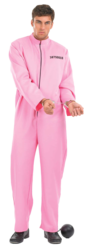 Pink Prisoner Fancy Dress