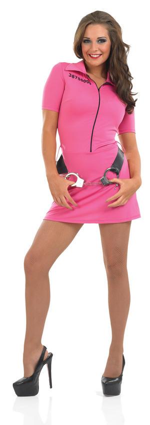 Pink Prisoner Costume