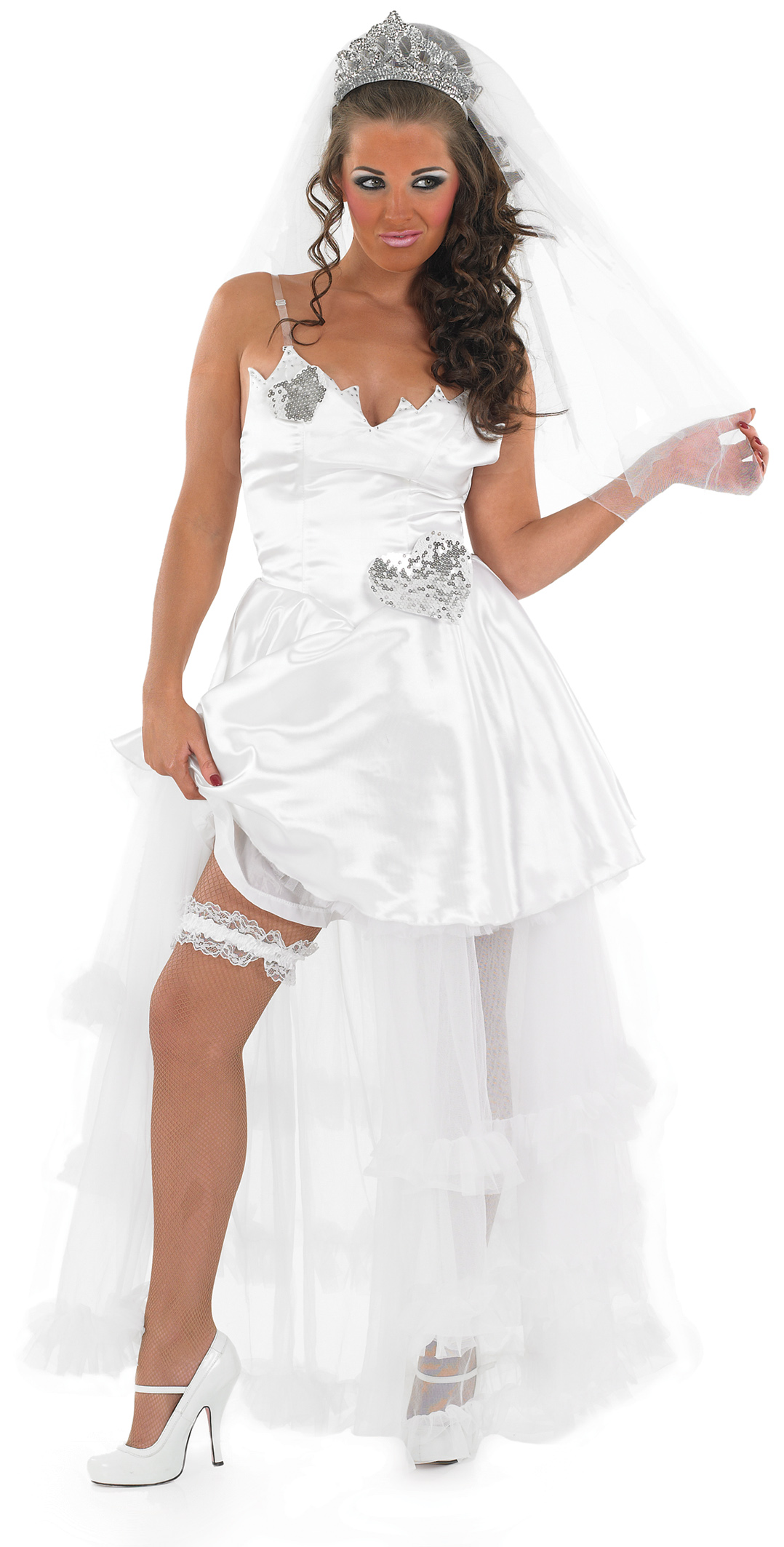 Gypsy White Wedding Costume