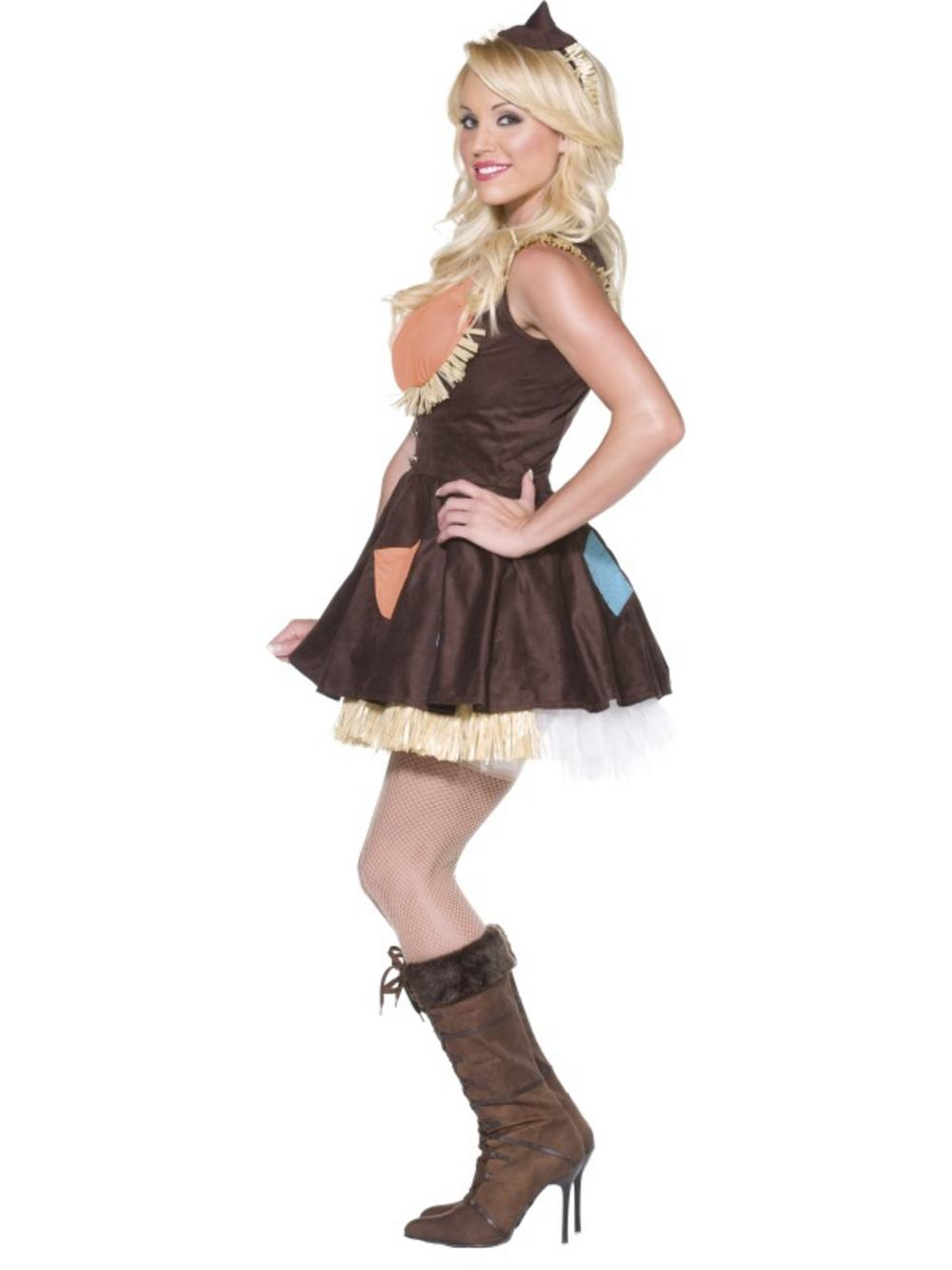 Sultry Scarecrow Fancy Dress All Ladies Costumes Mega