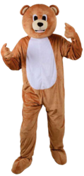 Mini Mascot Teddy Bear Costume
