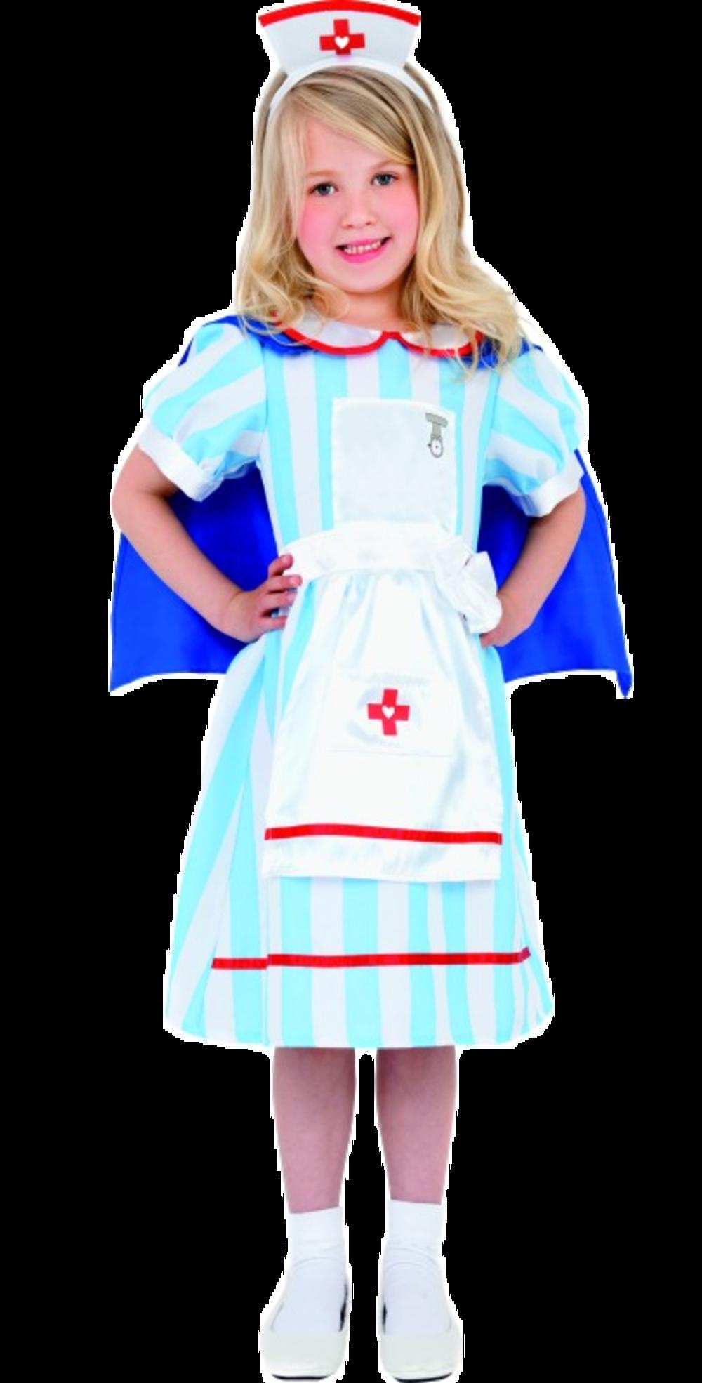 Vintage Nurse Fancy Dress