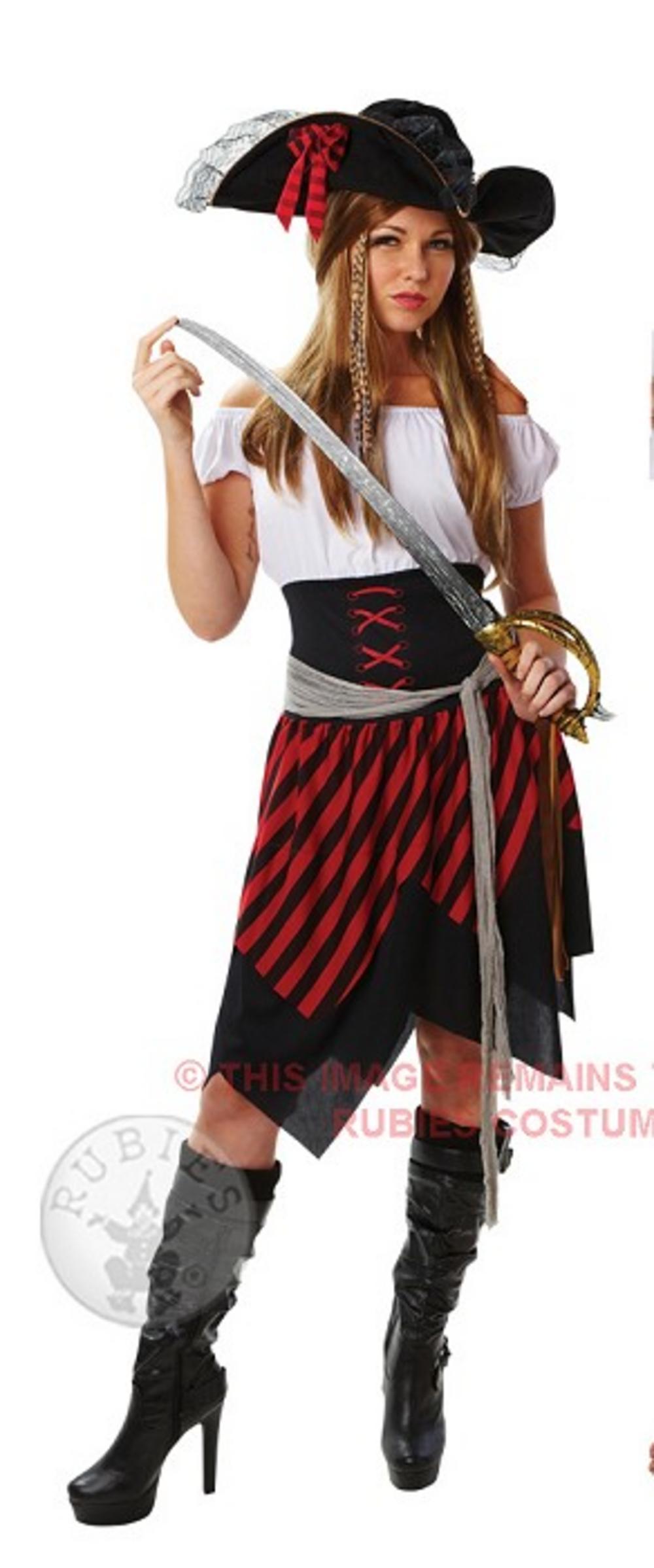 Pirate Lady Fancy Dress