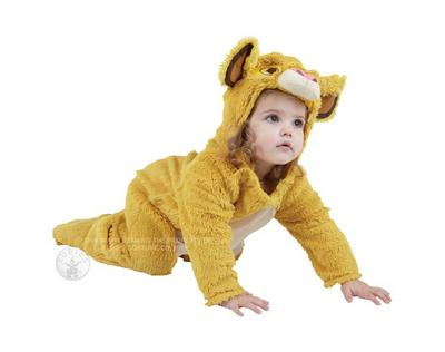 Kids Simba Costume