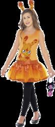 Girls Katsuma Moshi Monster Costume