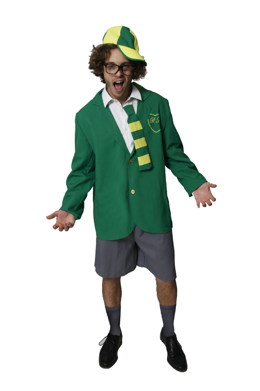 Have thought fancy dress school uniforms not joke!