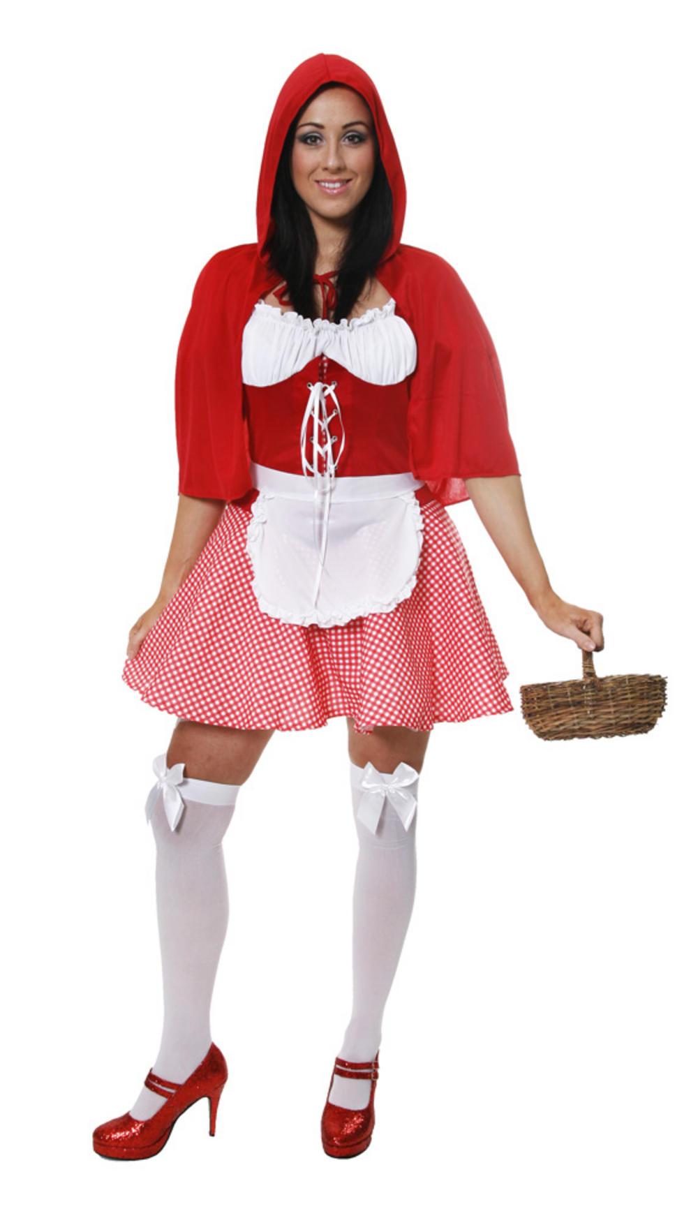 Sexy Little Miss Riding Hood Costume