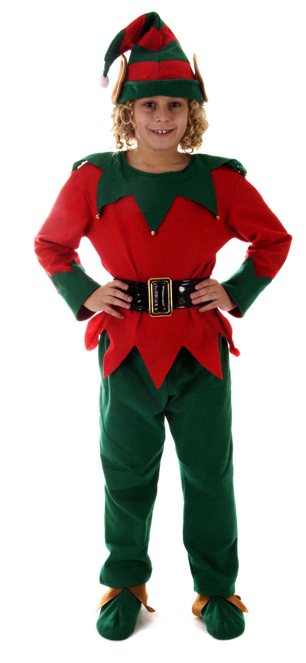 Our kids' Christmas Elf Costume includes a gold Forum Novelties Deluxe Lil Ms. Santa's Helper Costume, Child Large. by Forum Novelties. $ $ 18 FREE Shipping on eligible orders. Only 9 left in stock - order soon. out of 5 stars Manufacturer recommended age: 8 - 10 Years.