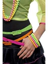 80s Neon Beaded Bracelets