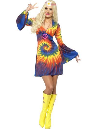 60s Tie Dye Costume
