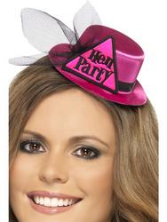 Pink Hen Party Mini Hat