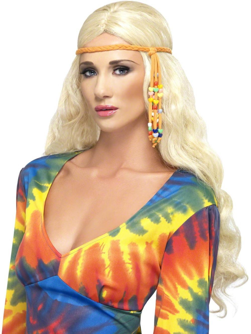60s Beaded Hippie Headband