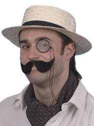 Straw Boater Hat Costume