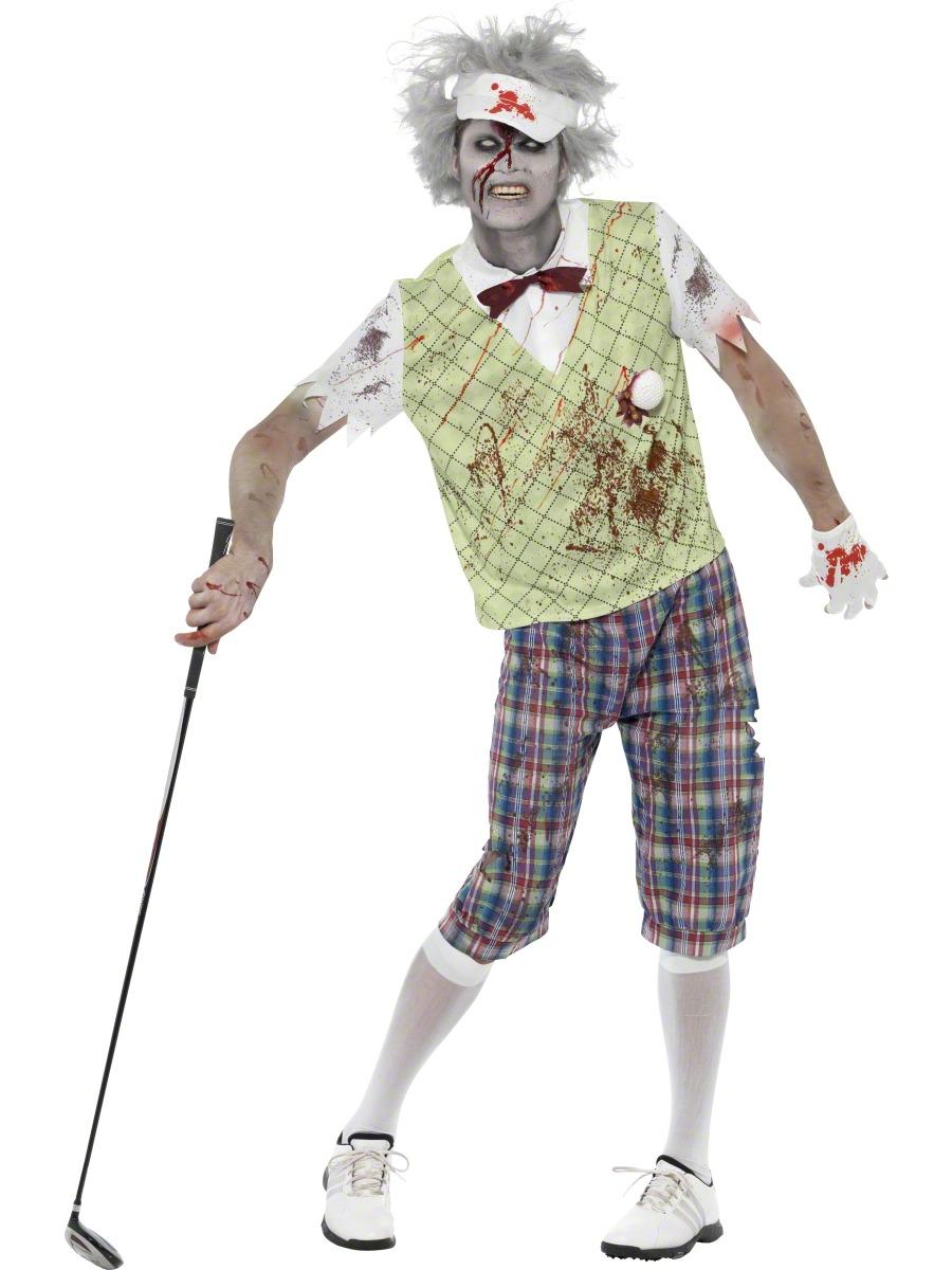 Zombie Golfer Costume | Zombie Costumes | Mega Fancy Dress