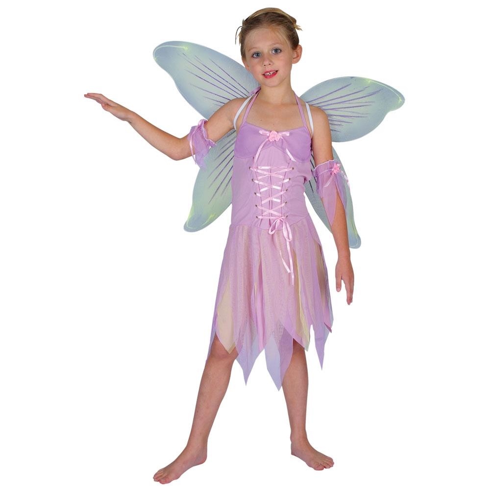 Halloween Girls Princess Fancy Dress Up Costume Outfits: Fairy Princess Girls Fancy Dress Halloween Costume S