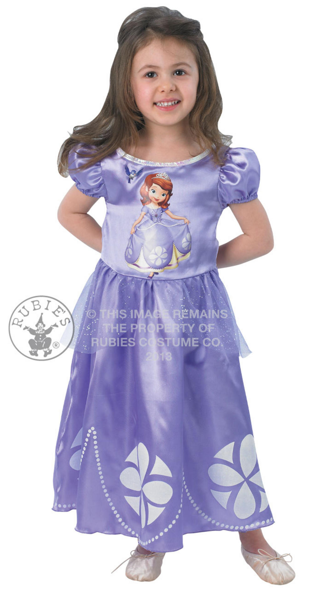 Sofia Princess Disney Costume | Girl\'s World Book Day Fancy Dress ...
