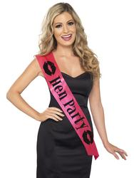 Pink Hen Party Sash