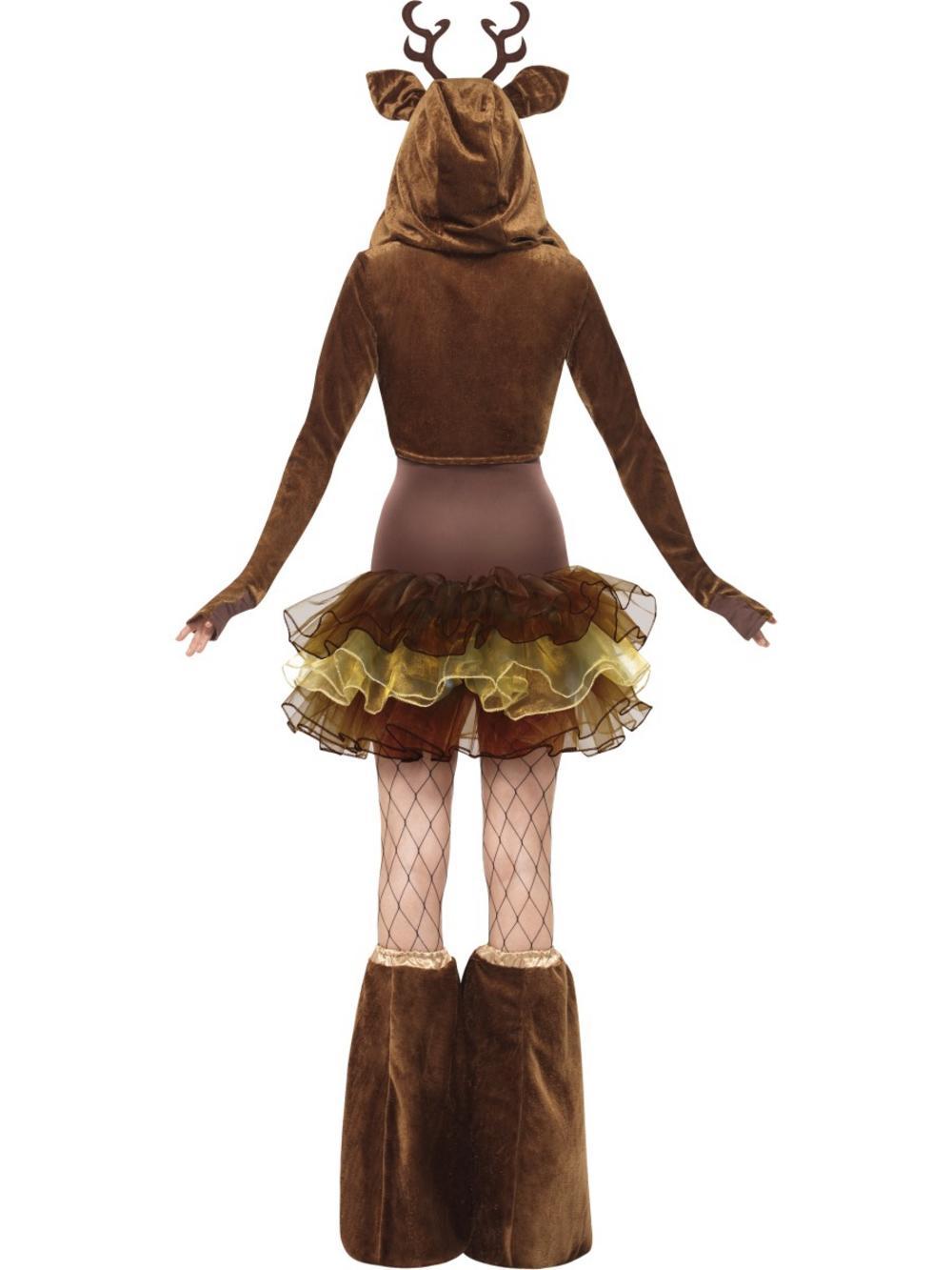 Fever Reindeer Costume All Ladies Costumes Mega Fancy