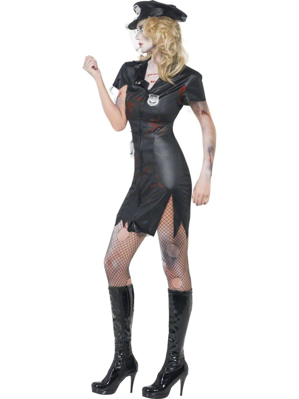 fever zombie cop costume | all ladies halloween costumes | mega