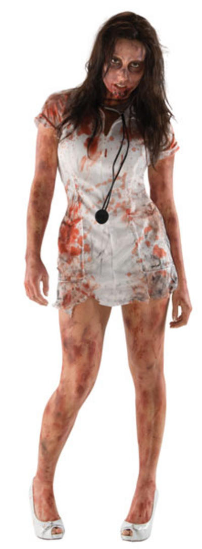 Zombie Nurse The Walking Dead Costume