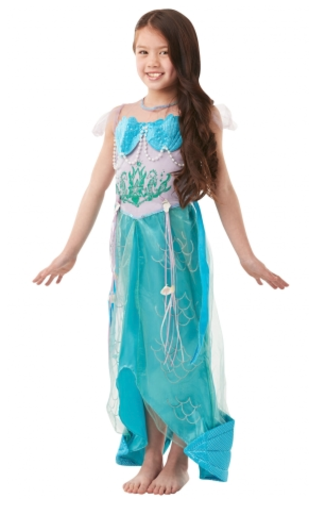 Deluxe Mermaid Princess Fancy Dress Costume