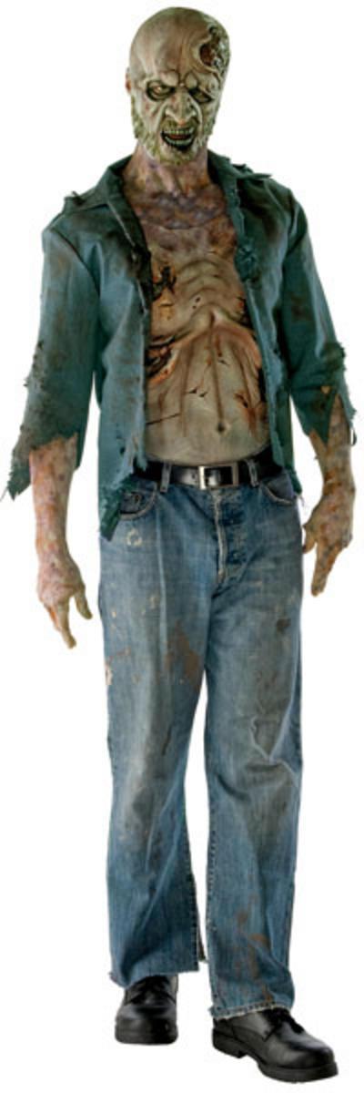 Deluxe Decomposed Zombie Costume