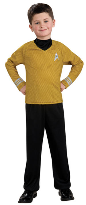 Boys Star Trek Captain Kirk Costume
