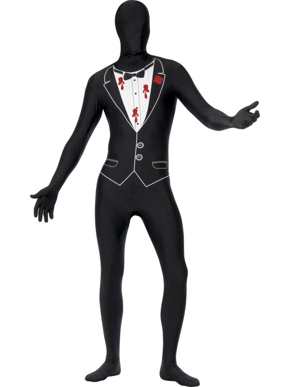 Shot Gangster Second Skin Suit