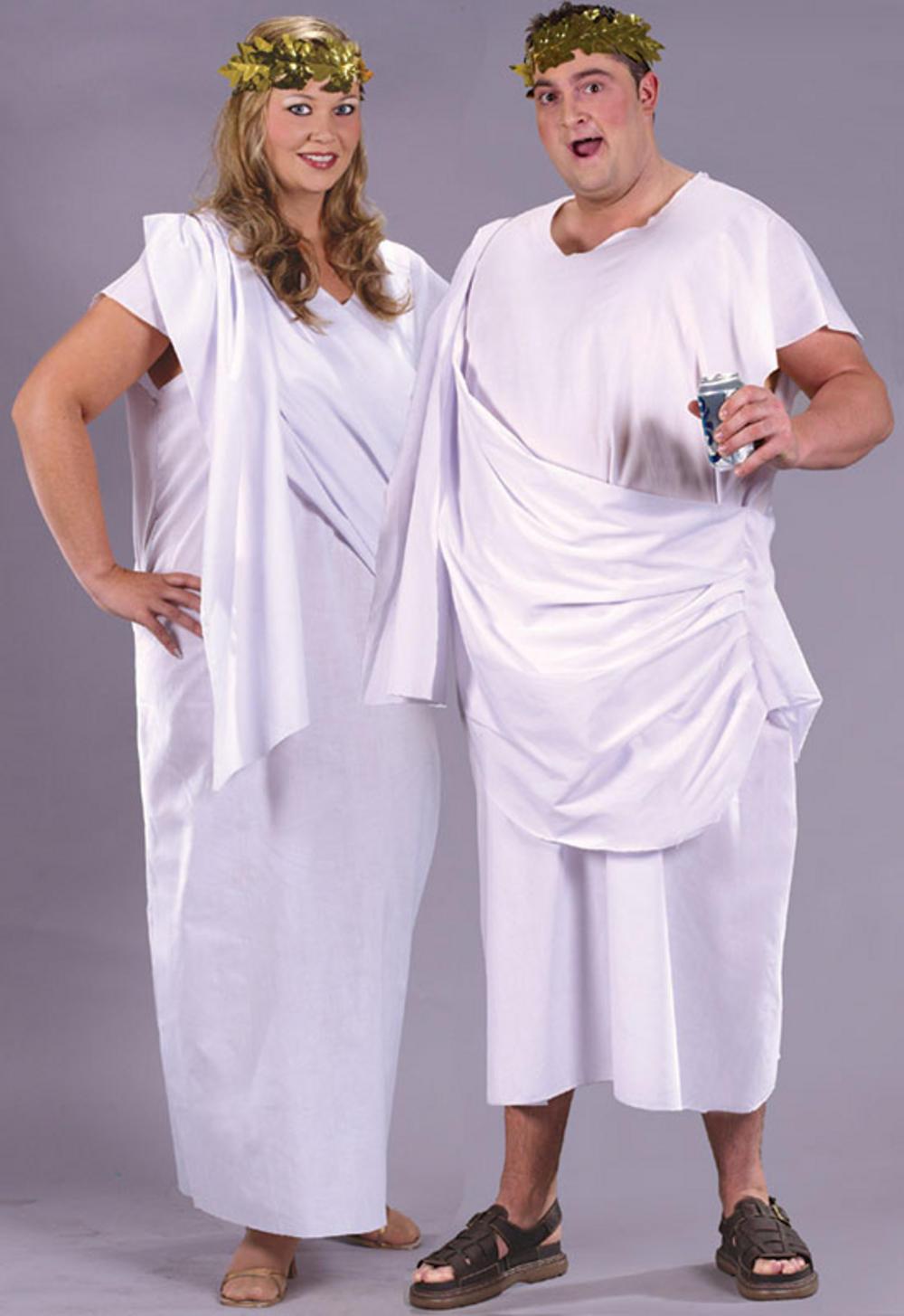 Unisex Toga Plus Size Costume