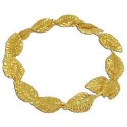 Gold Roman Laurel Costume