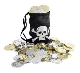 Pirate Coin Bag Costume