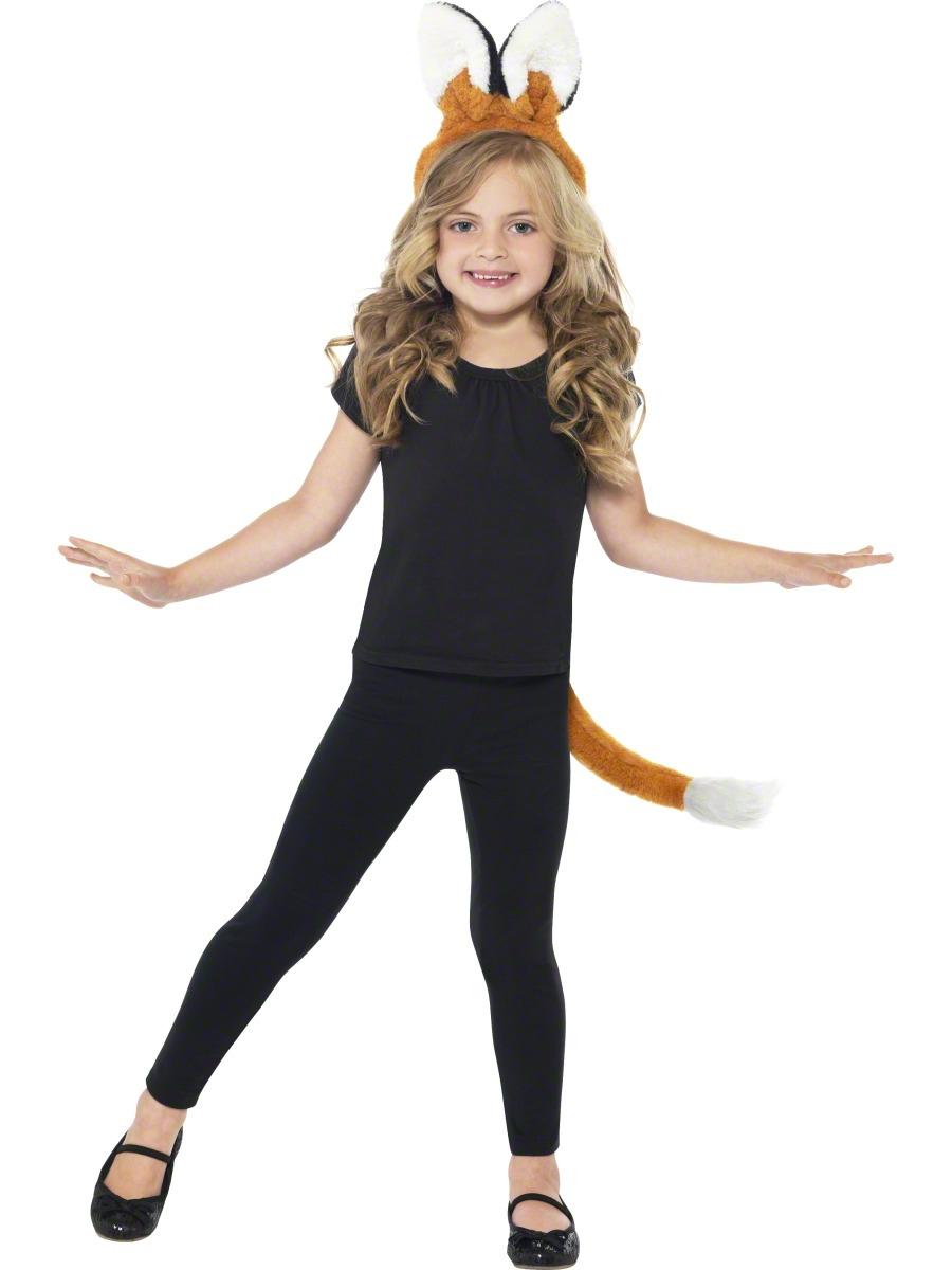 Fox Kit Costume  sc 1 st  Mega Fancy Dress & Fox Kit Costume | Girlu0027s World Book Day Fancy Dress Costumes | Mega ...