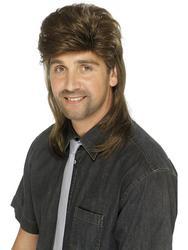 80s Jason Mullet Wig