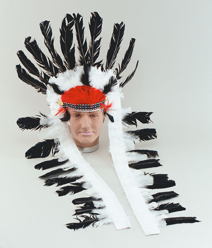 Red Indian Headdress  sc 1 st  Mega Fancy Dress : indian feather headdress costume  - Germanpascual.Com