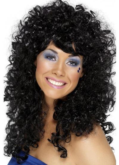 Black Boogie Babe Wig