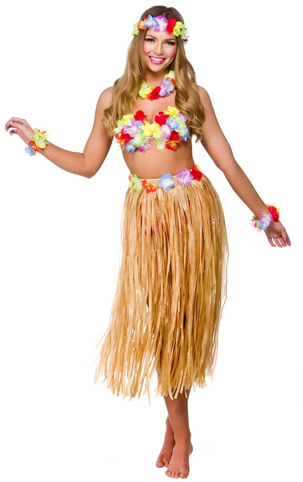 plain hawaii outfit for girls