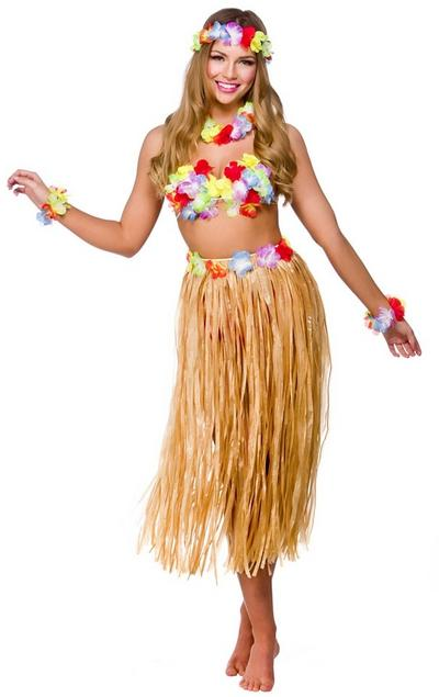 Hawaiian Party Girl Costume